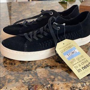 Toms Shoes suede.